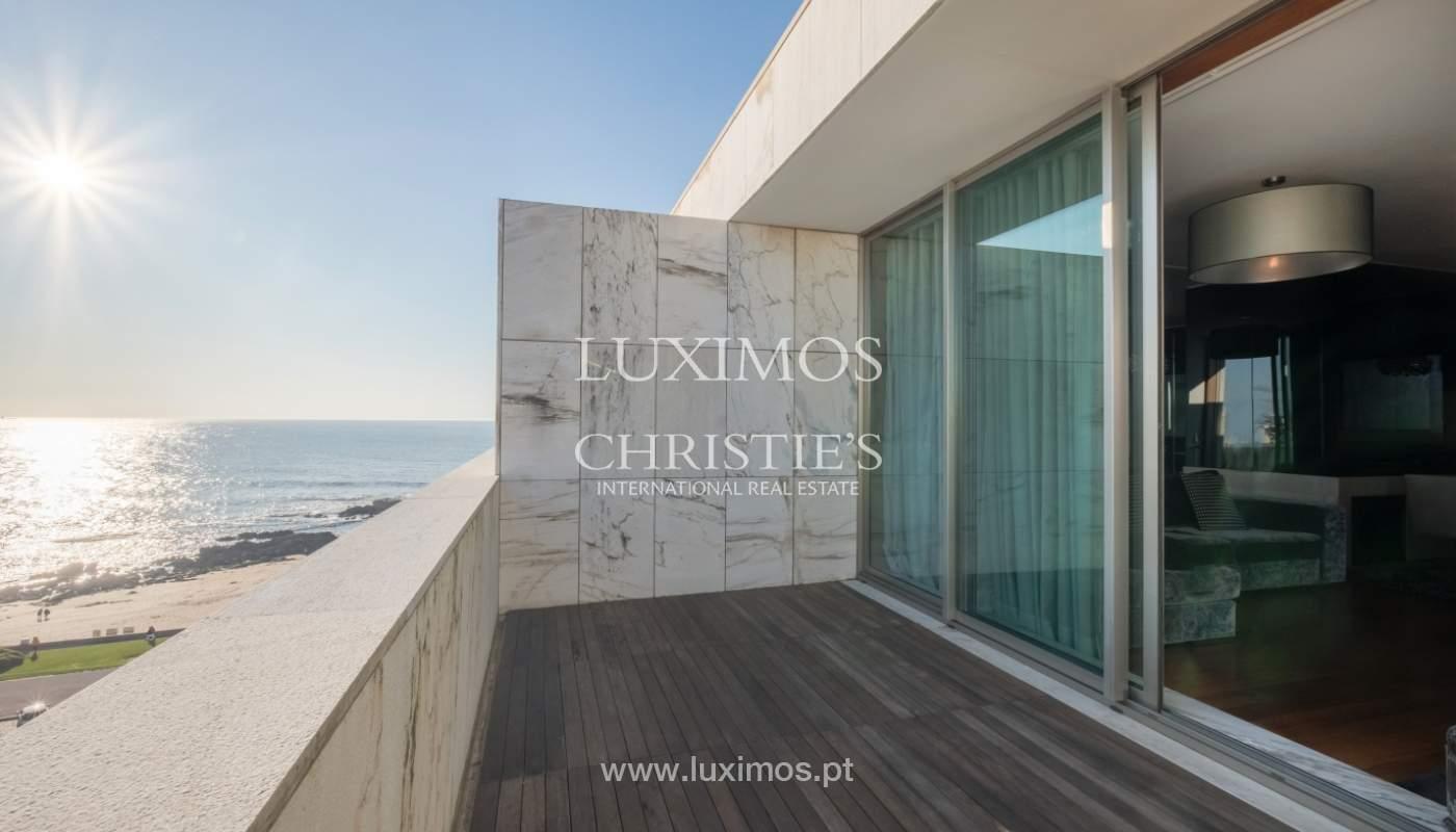 Penthouse w/ balcony for sale, 1st line of sea, Leça Palmeira, Portugal_127446