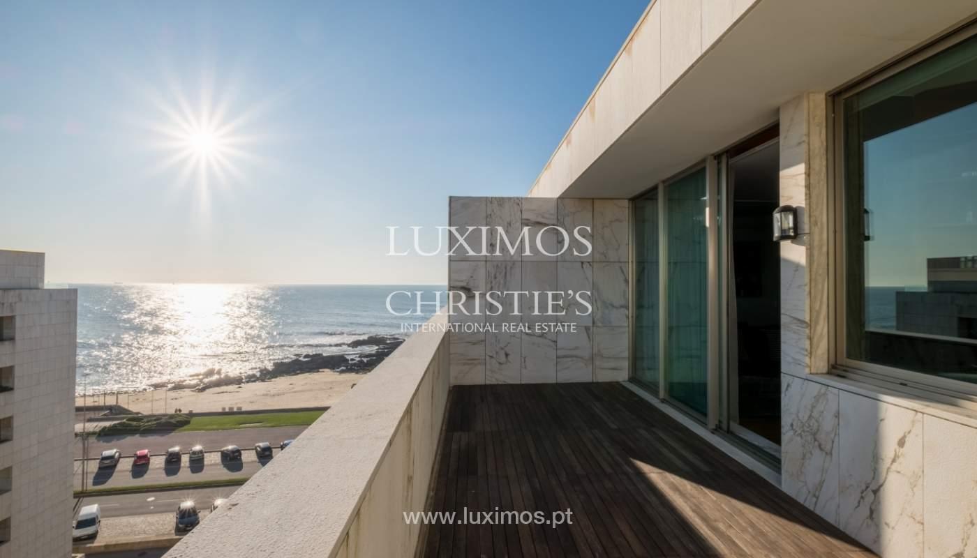 Penthouse w/ balcony for sale, 1st line of sea, Leça Palmeira, Portugal_127447