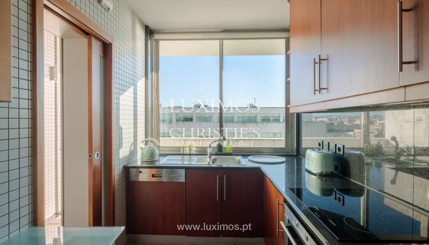 Penthouse w/ balcony for sale, 1st line of sea, Leça Palmeira, Portugal_127452