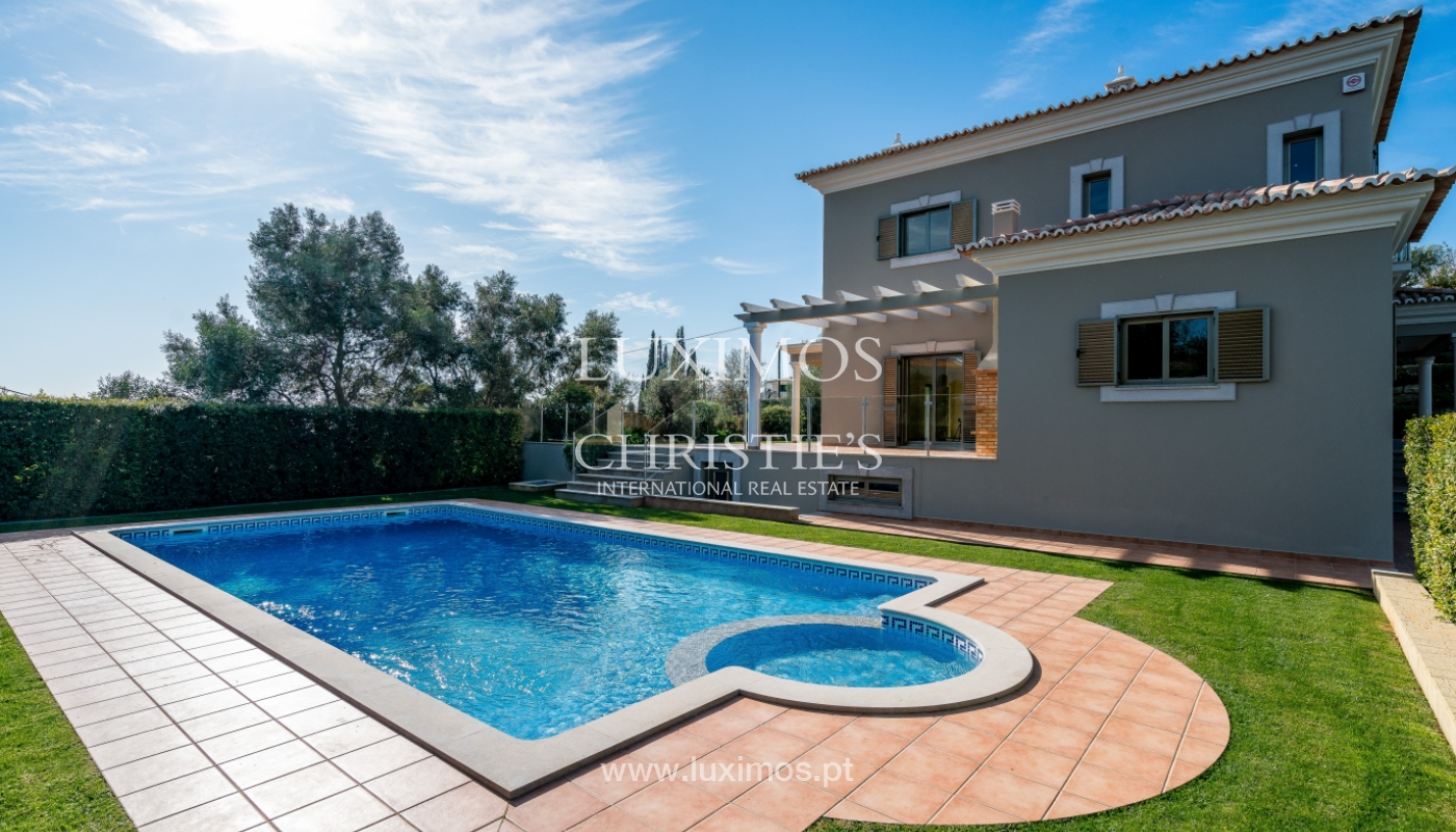 Sale of villa with pool and sea view in Boliqueime, Algarve, Portugal_127639