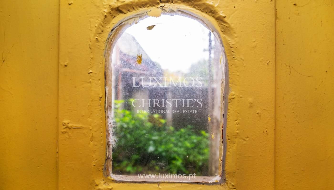 Verkauf der Villa zum Umbau mit Terrasse, Porto, Portugal_127689
