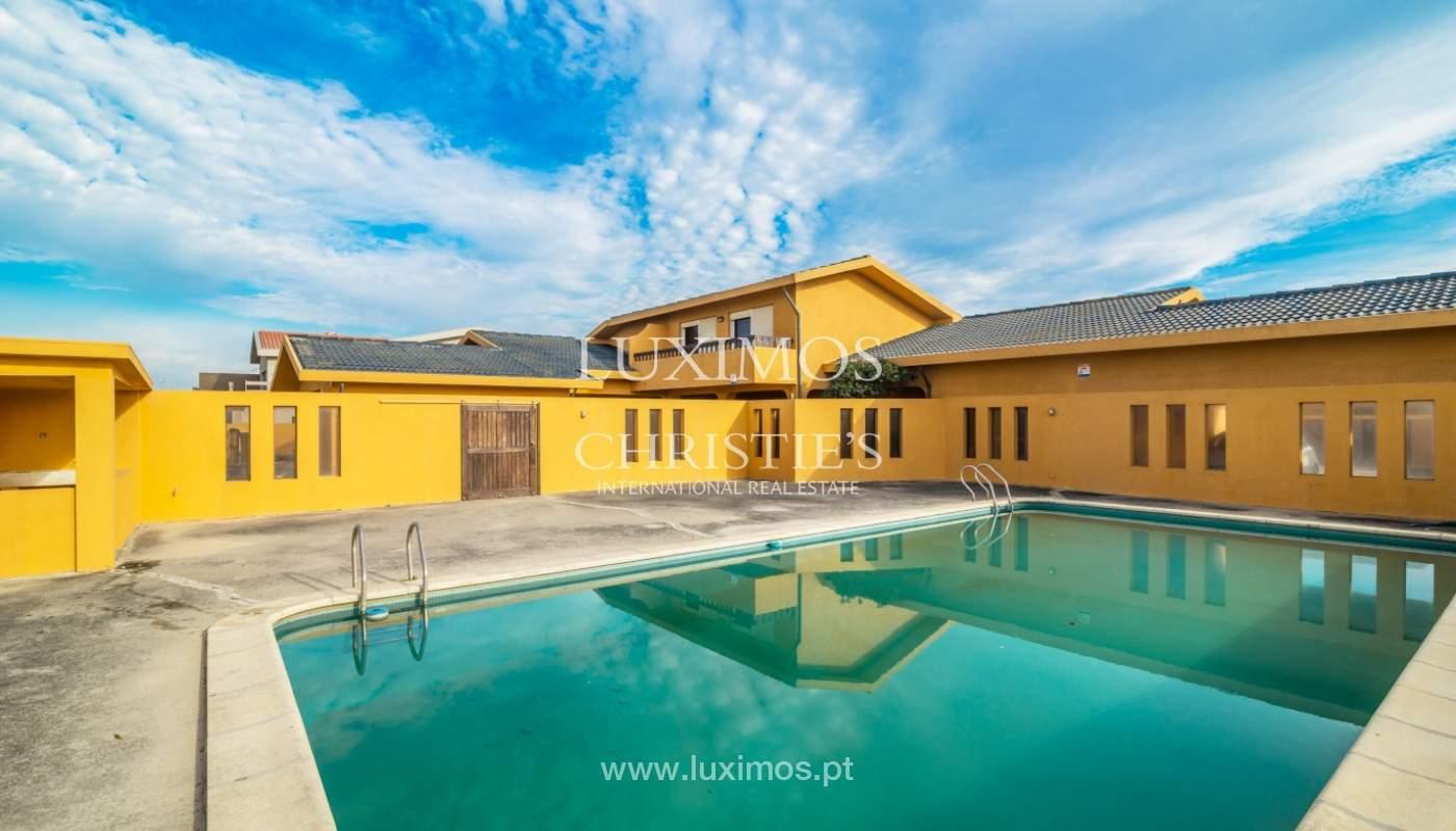 Villa à vendre avec piscine, en 1ère ligne de mer, Mindelo, Portugal_127692