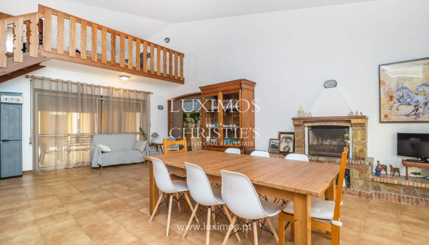 Villa à vendre avec piscine, en 1ère ligne de mer, Mindelo, Portugal_127700