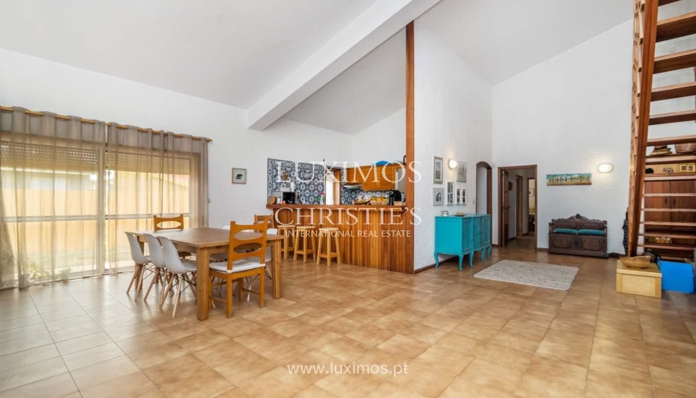 Villa à vendre avec piscine, en 1ère ligne de mer, Mindelo, Portugal_127702