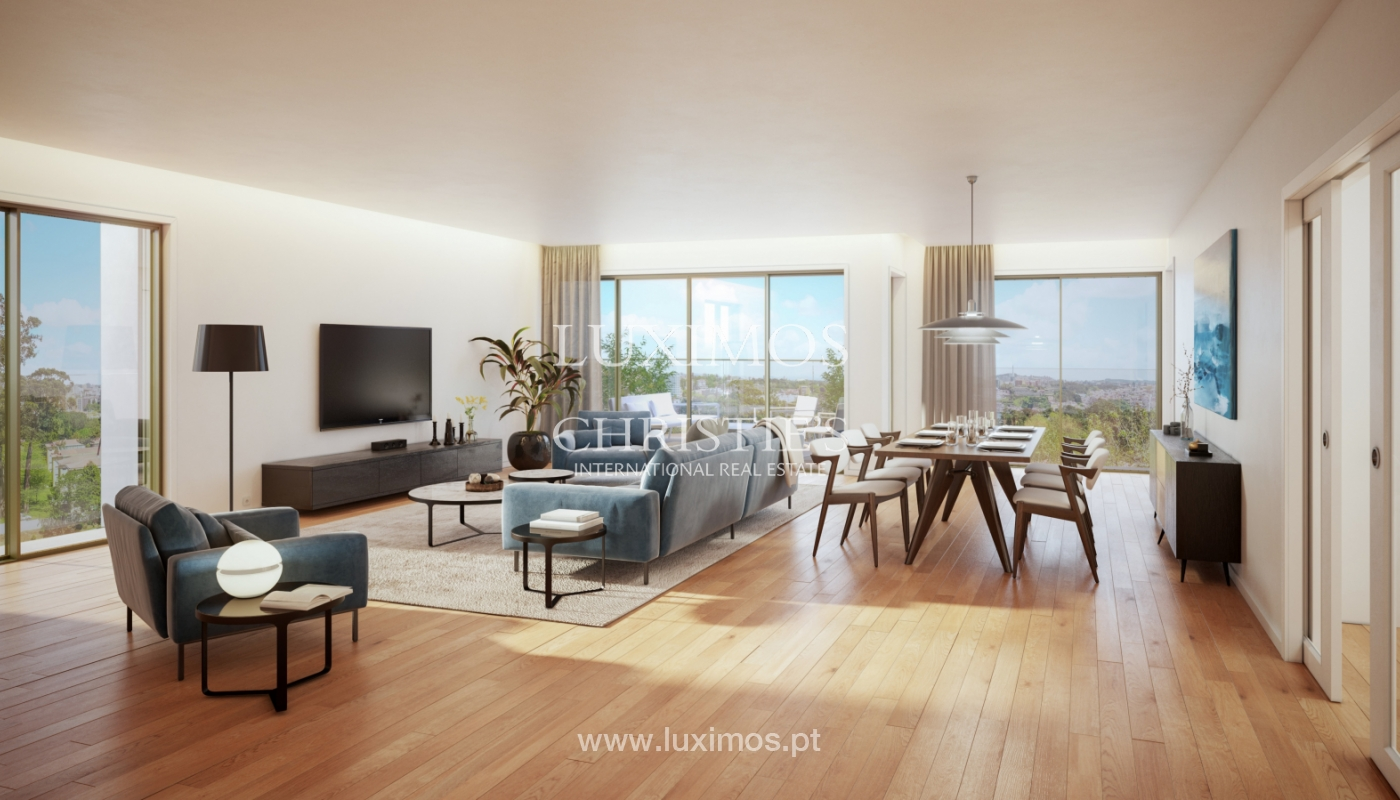 Verkauf der neuen Wohnung T4 mit Balkon, Pinhais da Foz, Porto, Portugal_127749