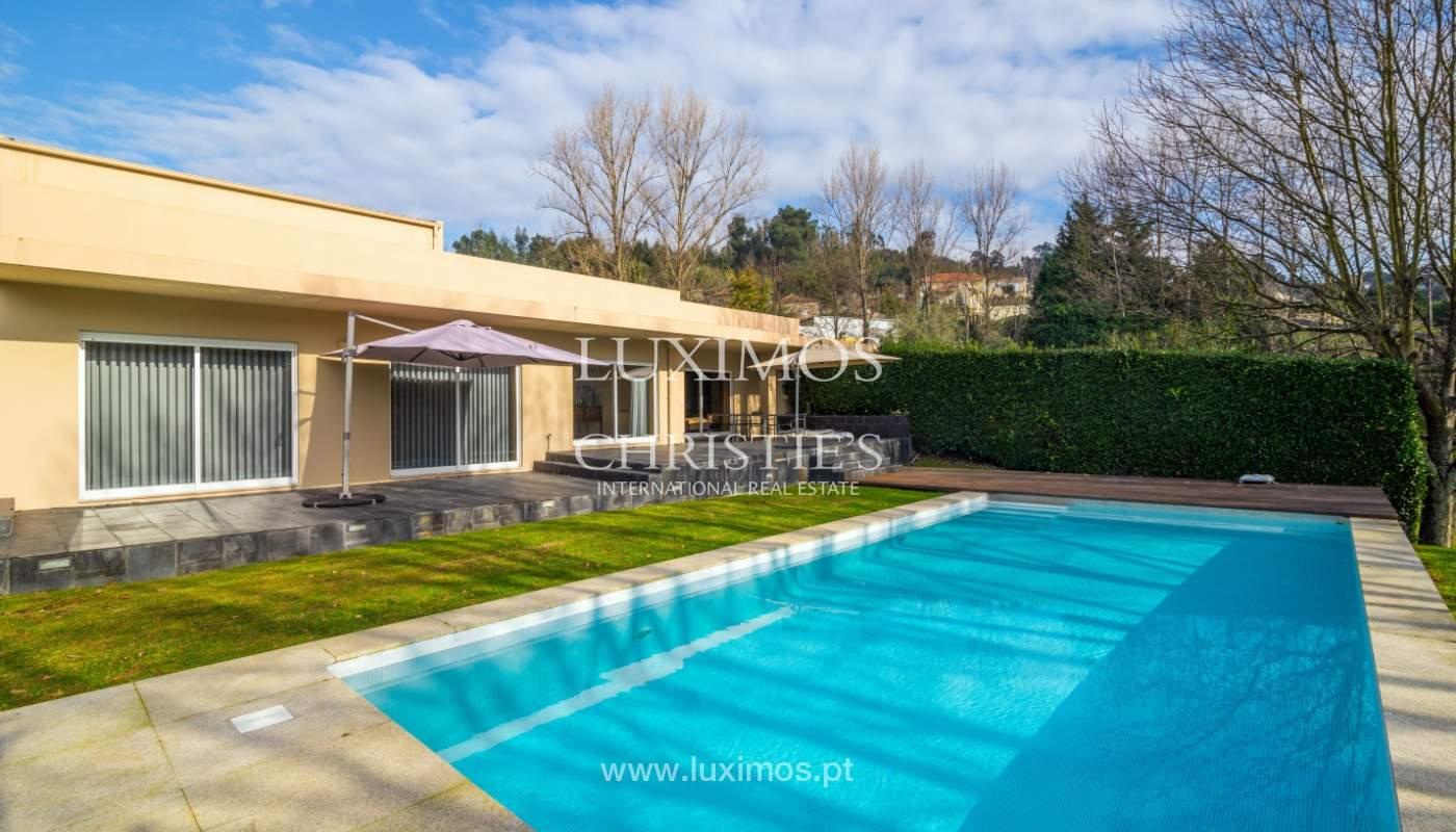 Villa de lujo con piscina y gran jardín, Santo Tirso, Portugal_127777