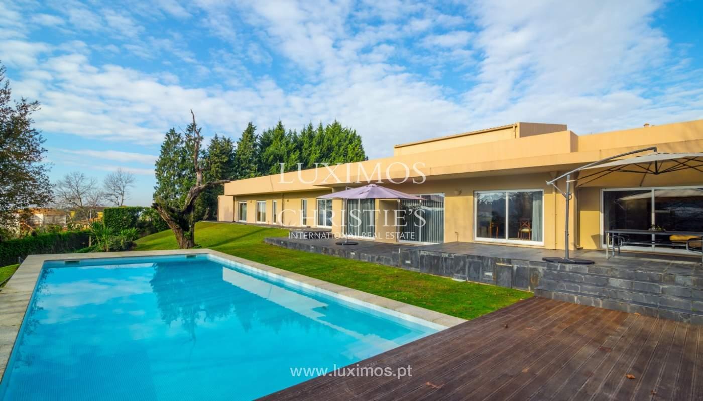 Villa de lujo con piscina y gran jardín, Santo Tirso, Portugal_127779