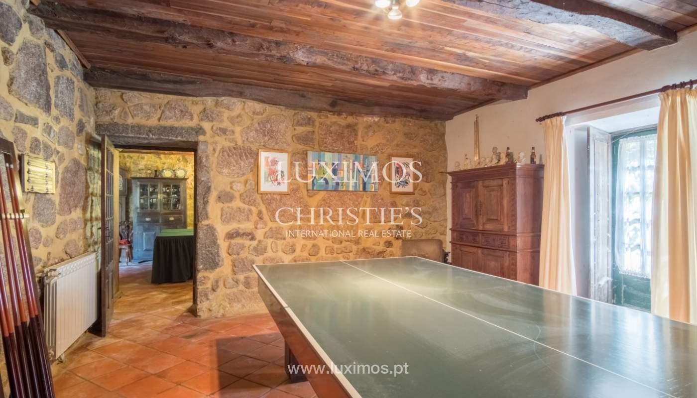 Ferme séculaire avec vignoble de vin vert, Barcelos, Portugal_131347