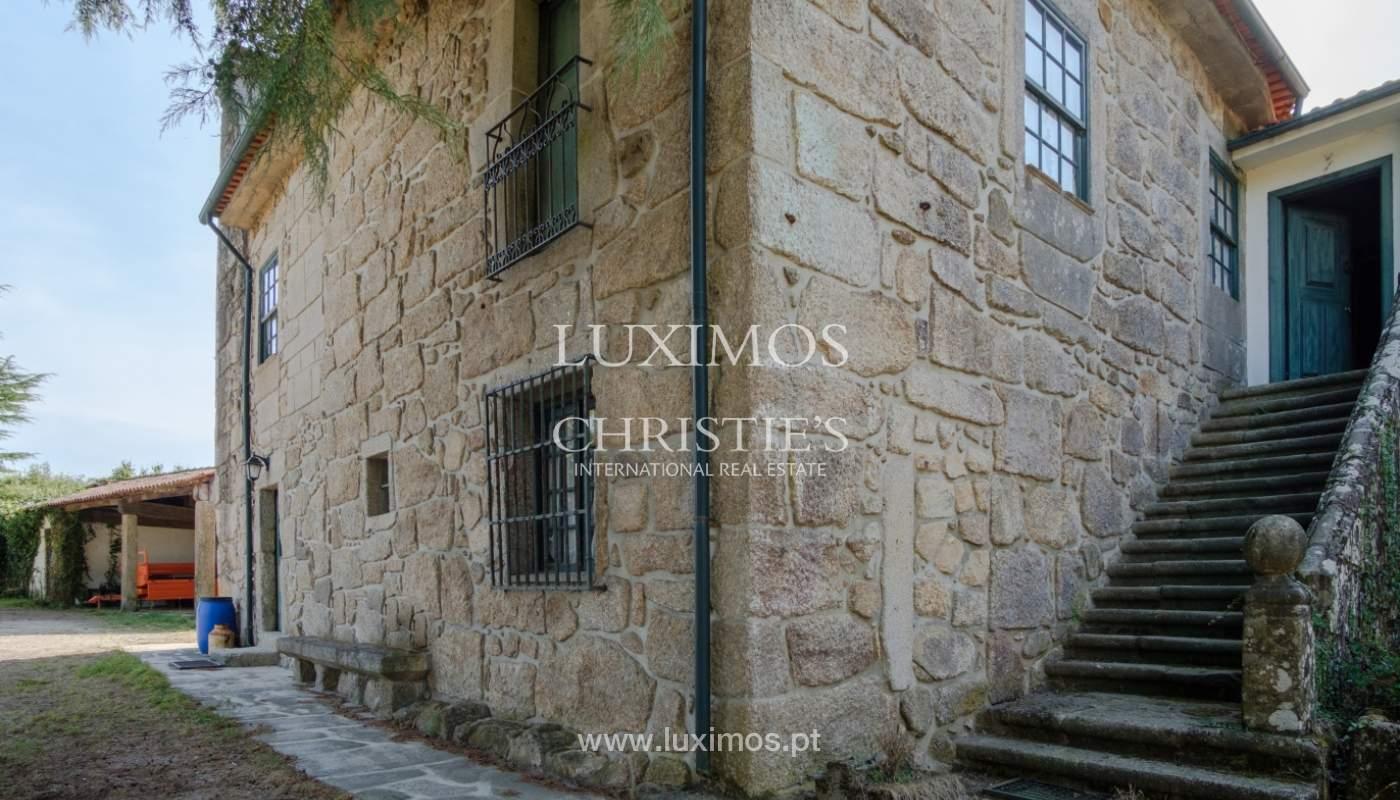 Ferme séculaire avec vignoble de vin vert, Barcelos, Portugal_131358