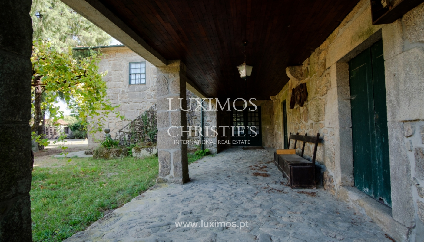 Ferme séculaire avec vignoble de vin vert, Barcelos, Portugal_131363