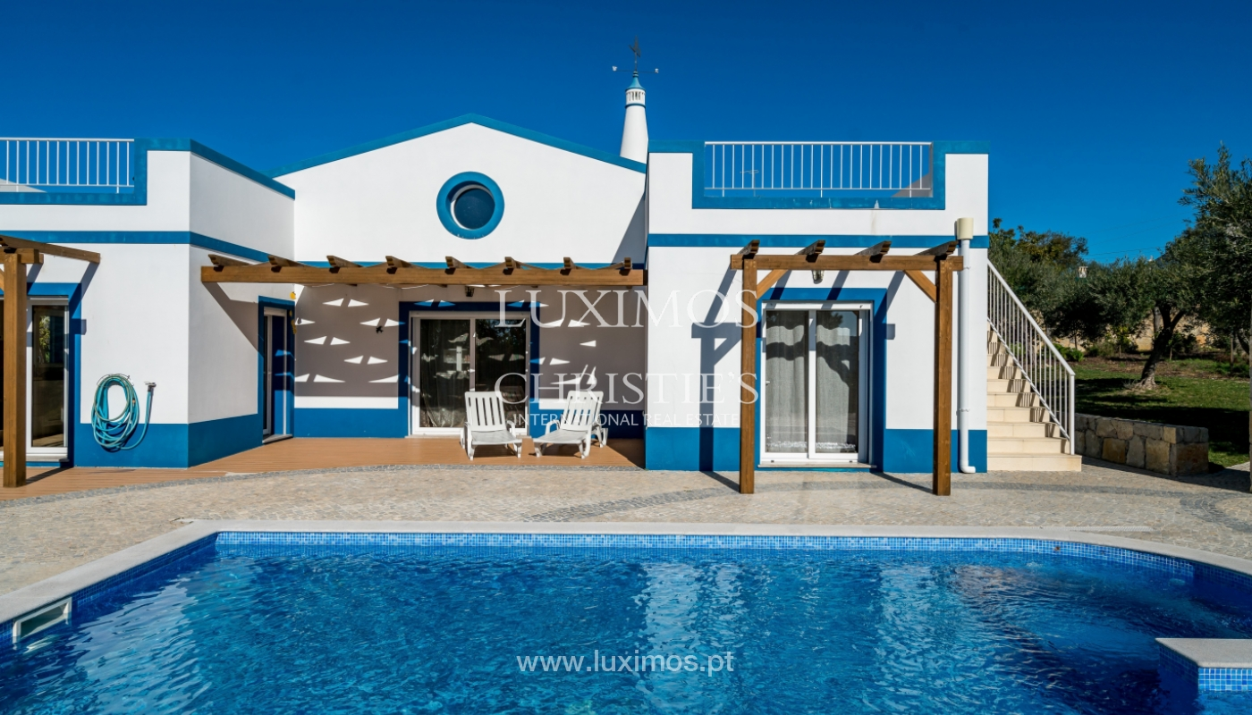Sale of villa with pool in São Brás de Alportel, Algarve, Portugal_132018