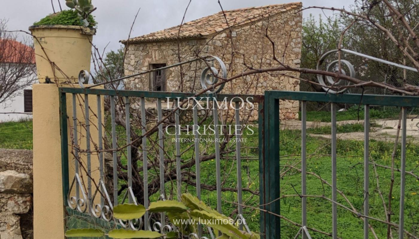 Venta de terreno con ruina en Boliqueime, Loulé, Algarve, Portugal_132596