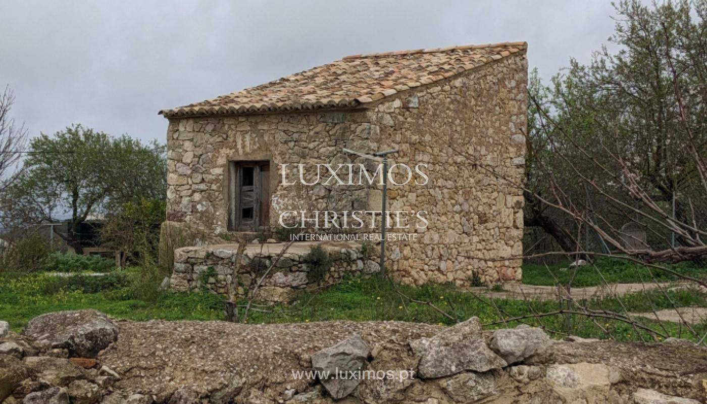 Venta de terreno con ruina en Boliqueime, Loulé, Algarve, Portugal_132597