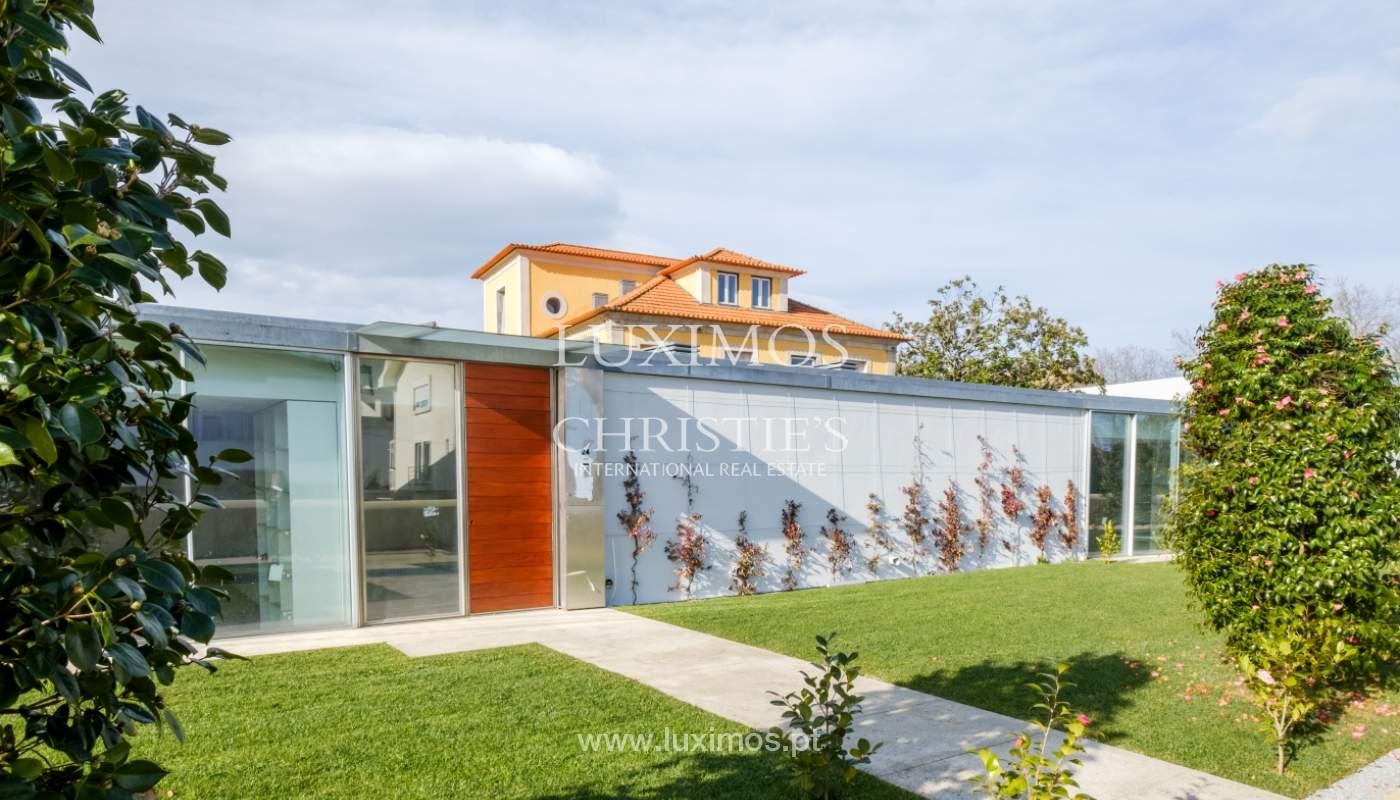 Moradia nova e moderna, em condomínio fechado de luxo, Porto_133194