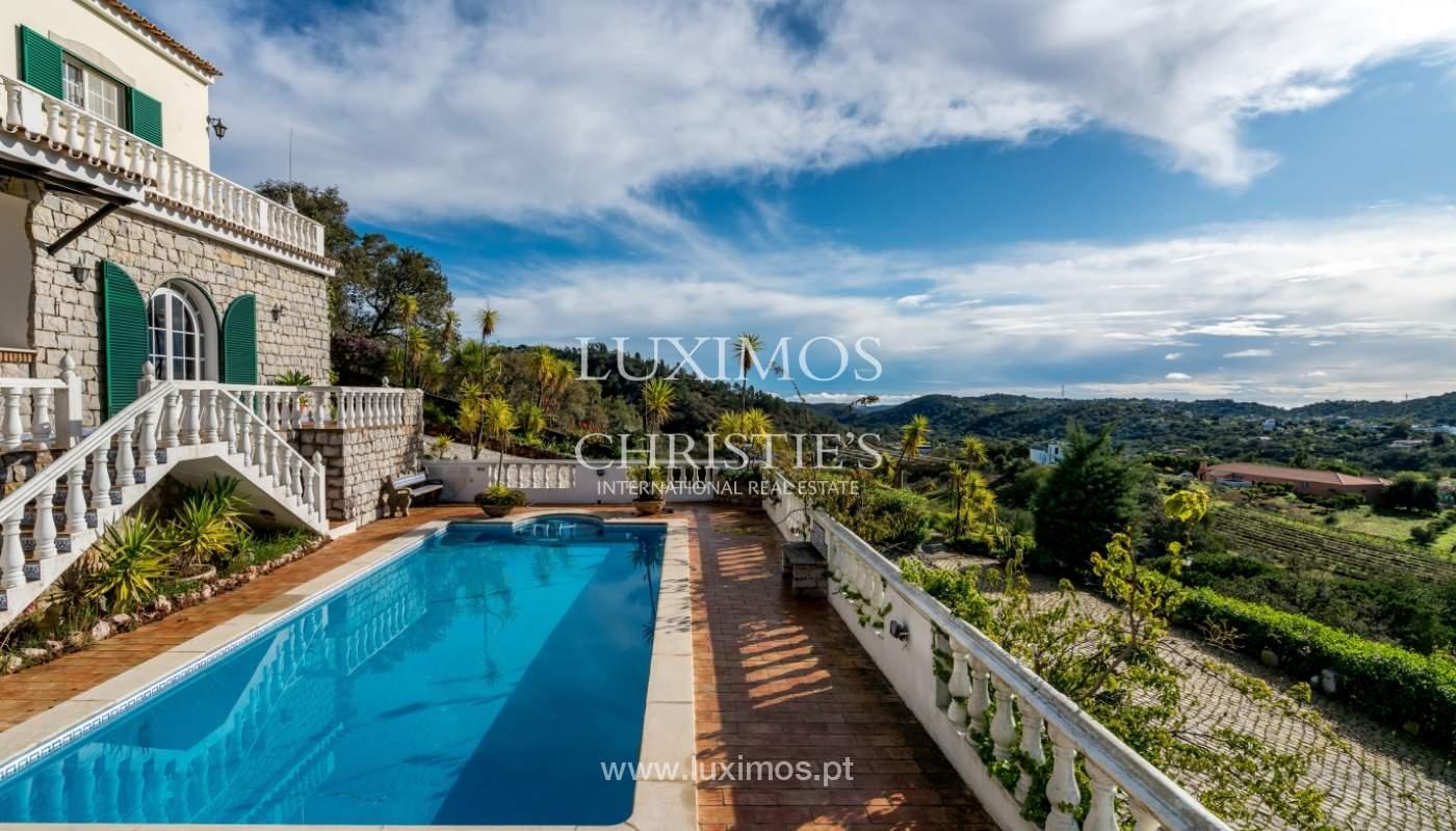 Sale of villa with pool in São Brás de Alportel, Algarve, Portugal_133681