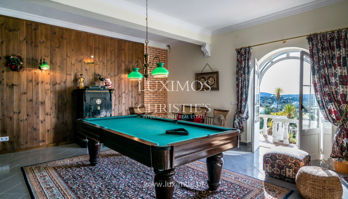 Sale of villa with pool in São Brás de Alportel, Algarve, Portugal_133688