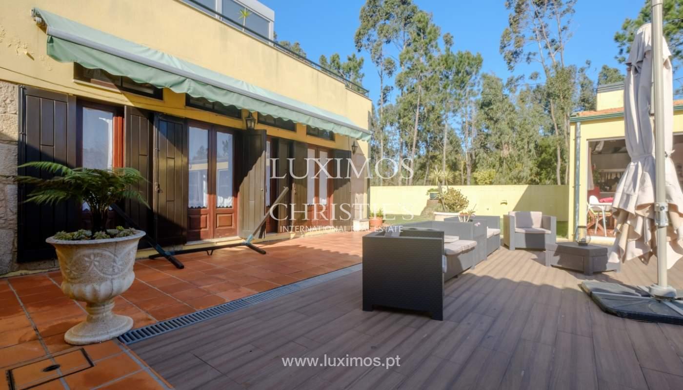 Venda de moradia com piscina e amplo jardim, Espinho_133857