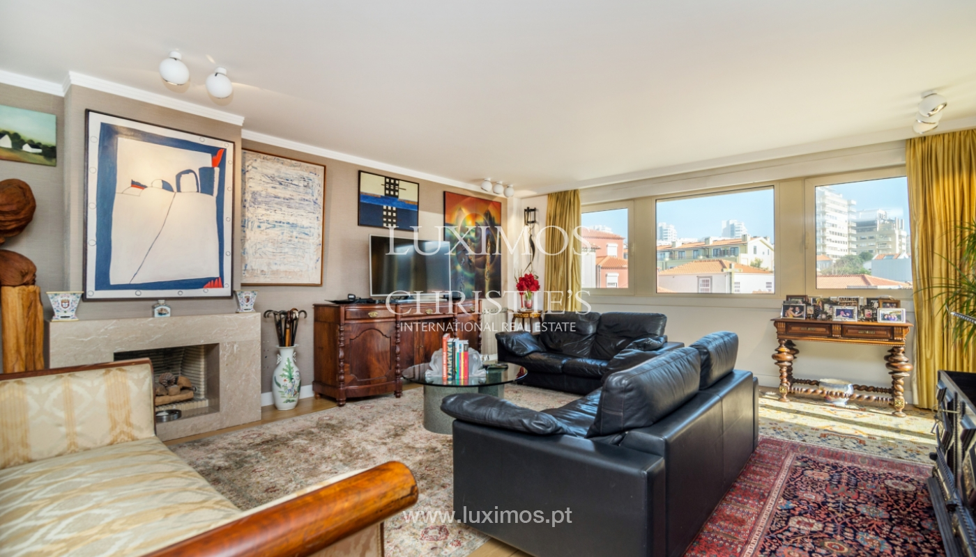 Apartamento de lujo, en venta, con vistas al mar, Foz do Douro, Portugal_133877