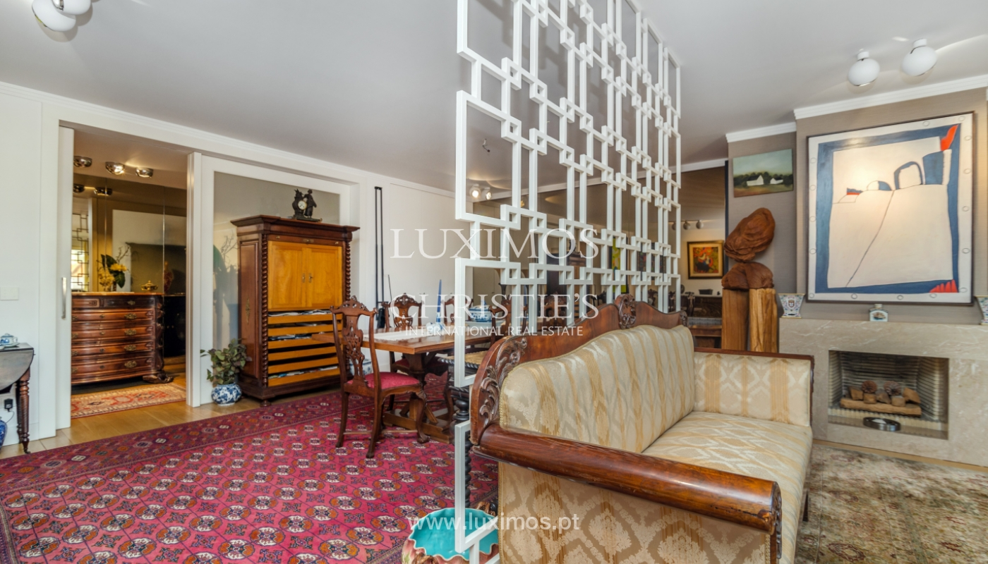 Apartamento de luxo, para venda, com vistas mar, na Foz do Douro_133879