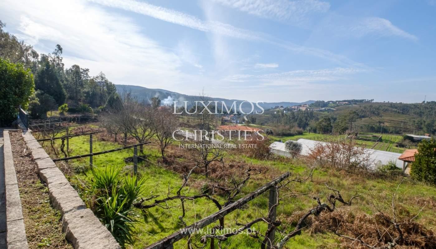 Vendre de petite ferme avec jardins et une piscine, Penafiel, Portugal_133943