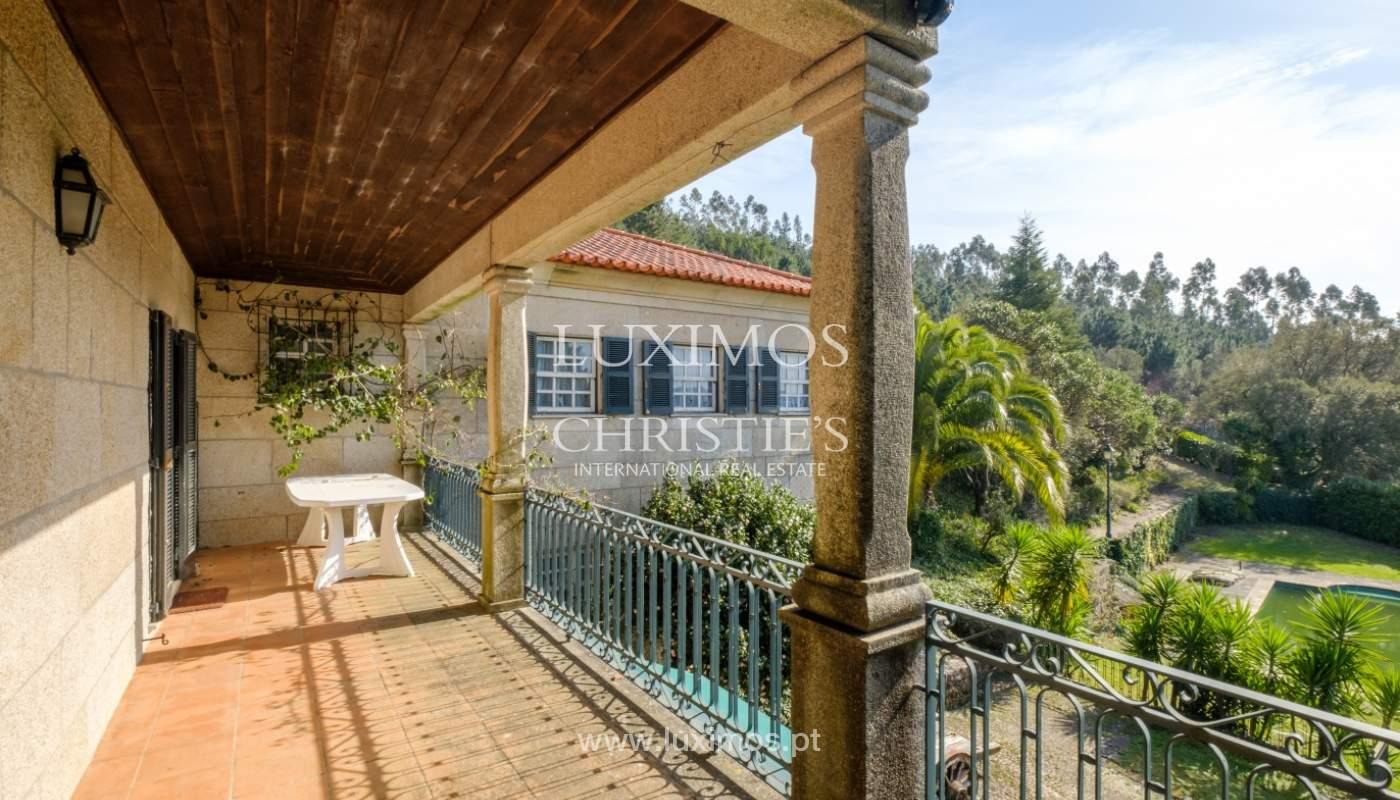 Vendre de petite ferme avec jardins et une piscine, Penafiel, Portugal_133948