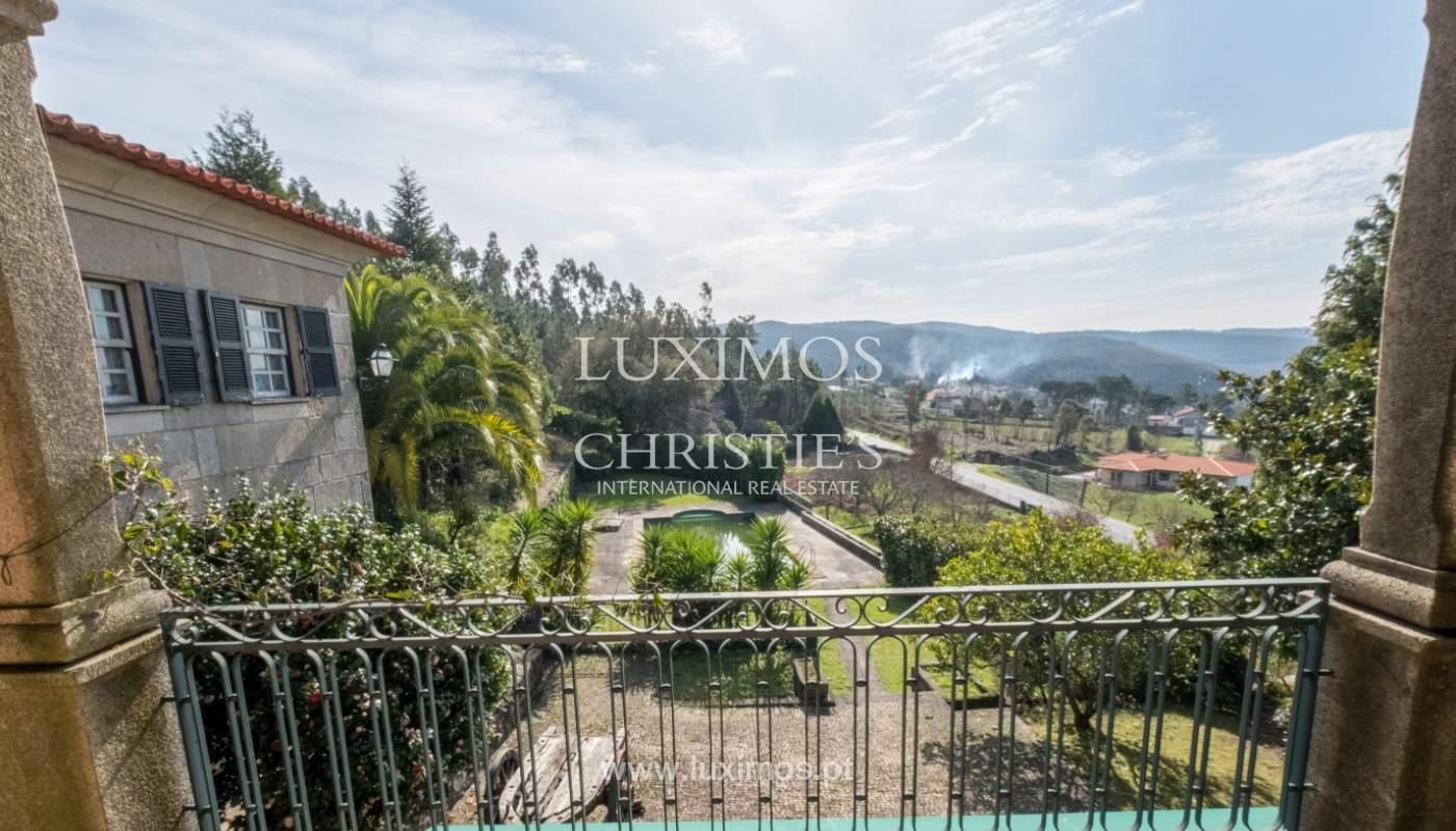 Vendre de petite ferme avec jardins et une piscine, Penafiel, Portugal_133950