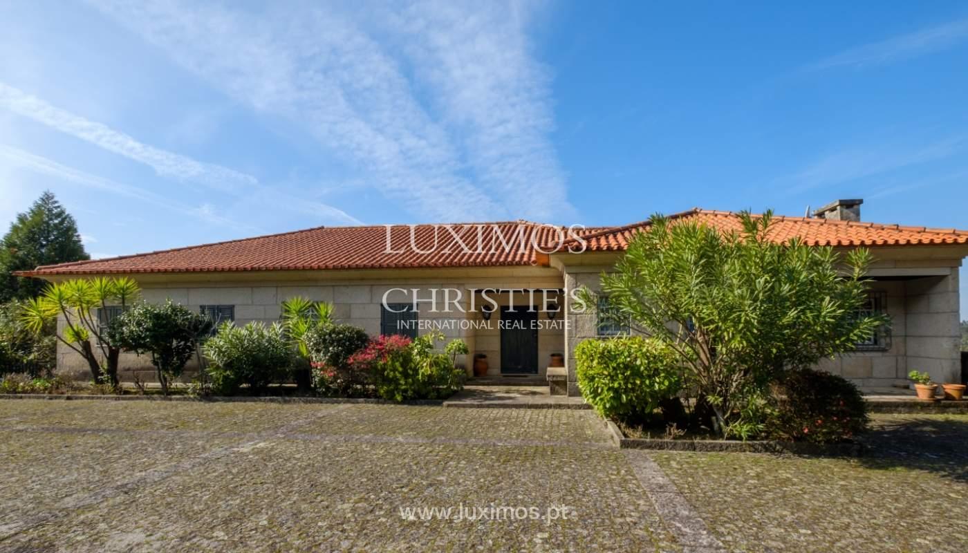 Vendre de petite ferme avec jardins et une piscine, Penafiel, Portugal_133959