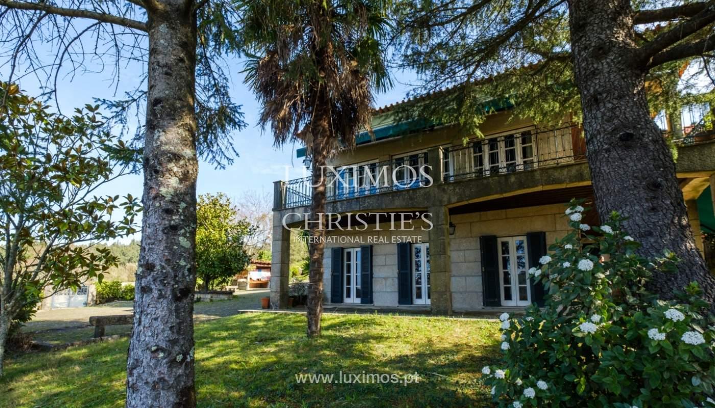 Vendre de petite ferme avec jardins et une piscine, Penafiel, Portugal_133963