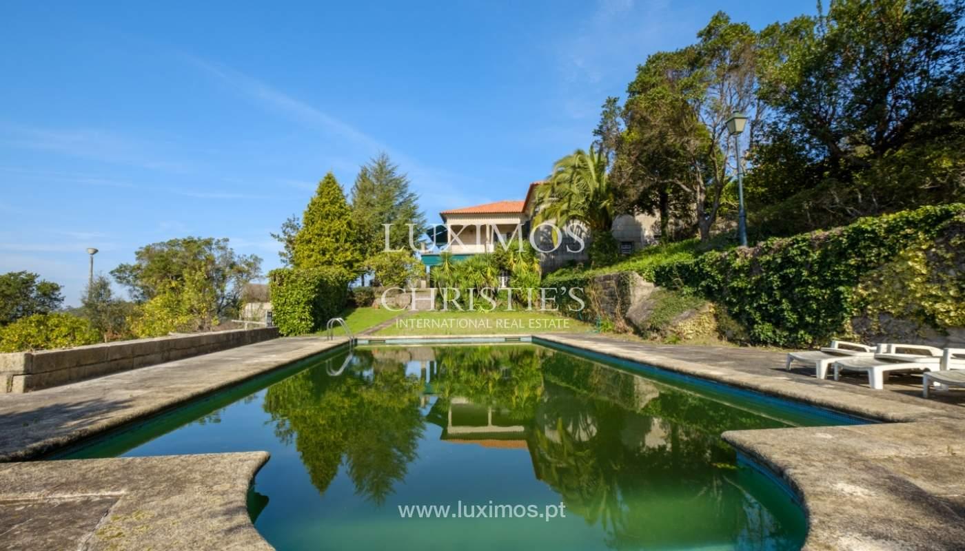 Vendre de petite ferme avec jardins et une piscine, Penafiel, Portugal_133964