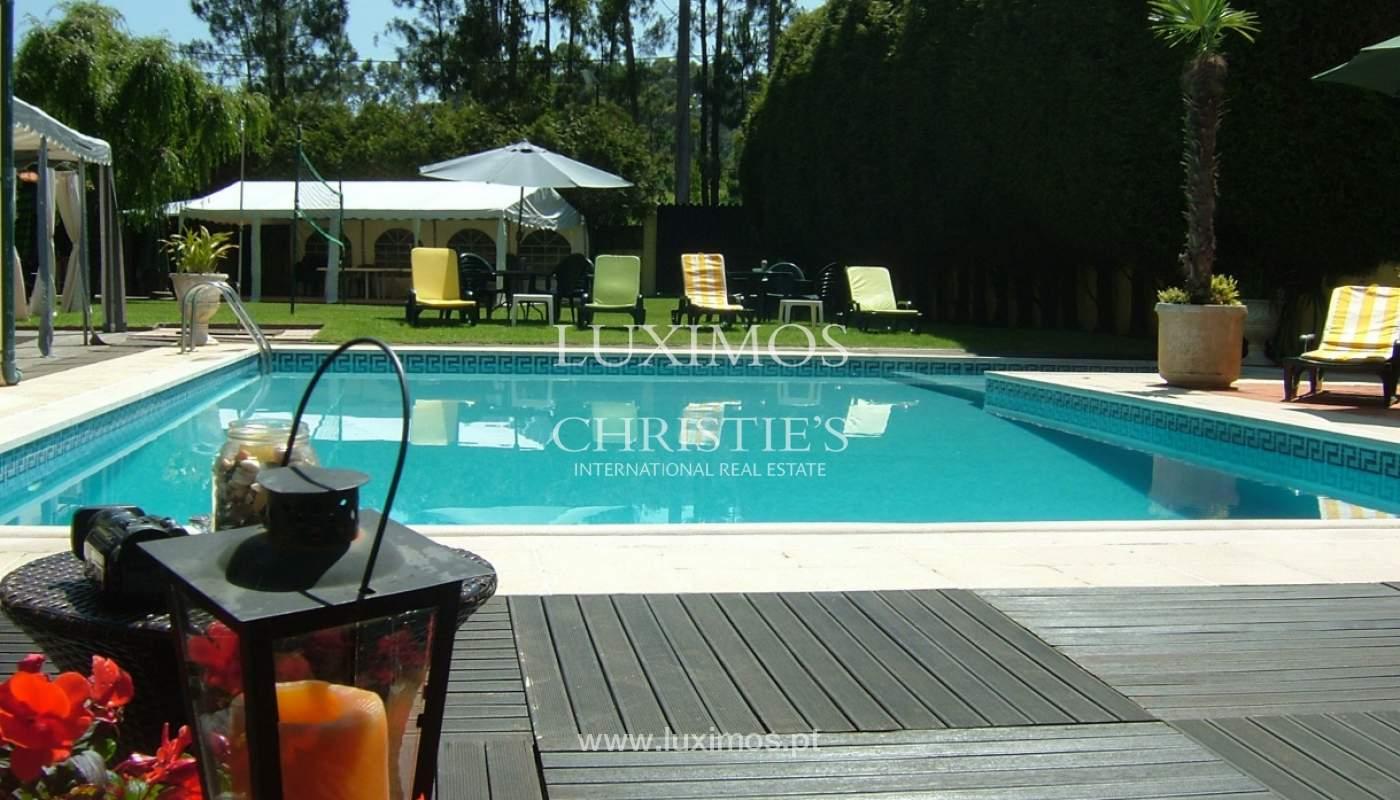 Venda de moradia com piscina e amplo jardim, Espinho_133970