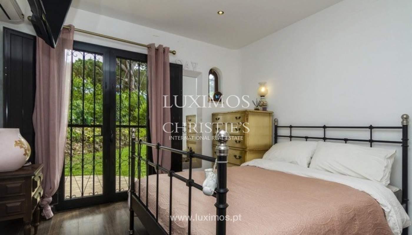 Villa à vendre avec piscine en front golf à Vilamoura, Algarve, Portugal_134426