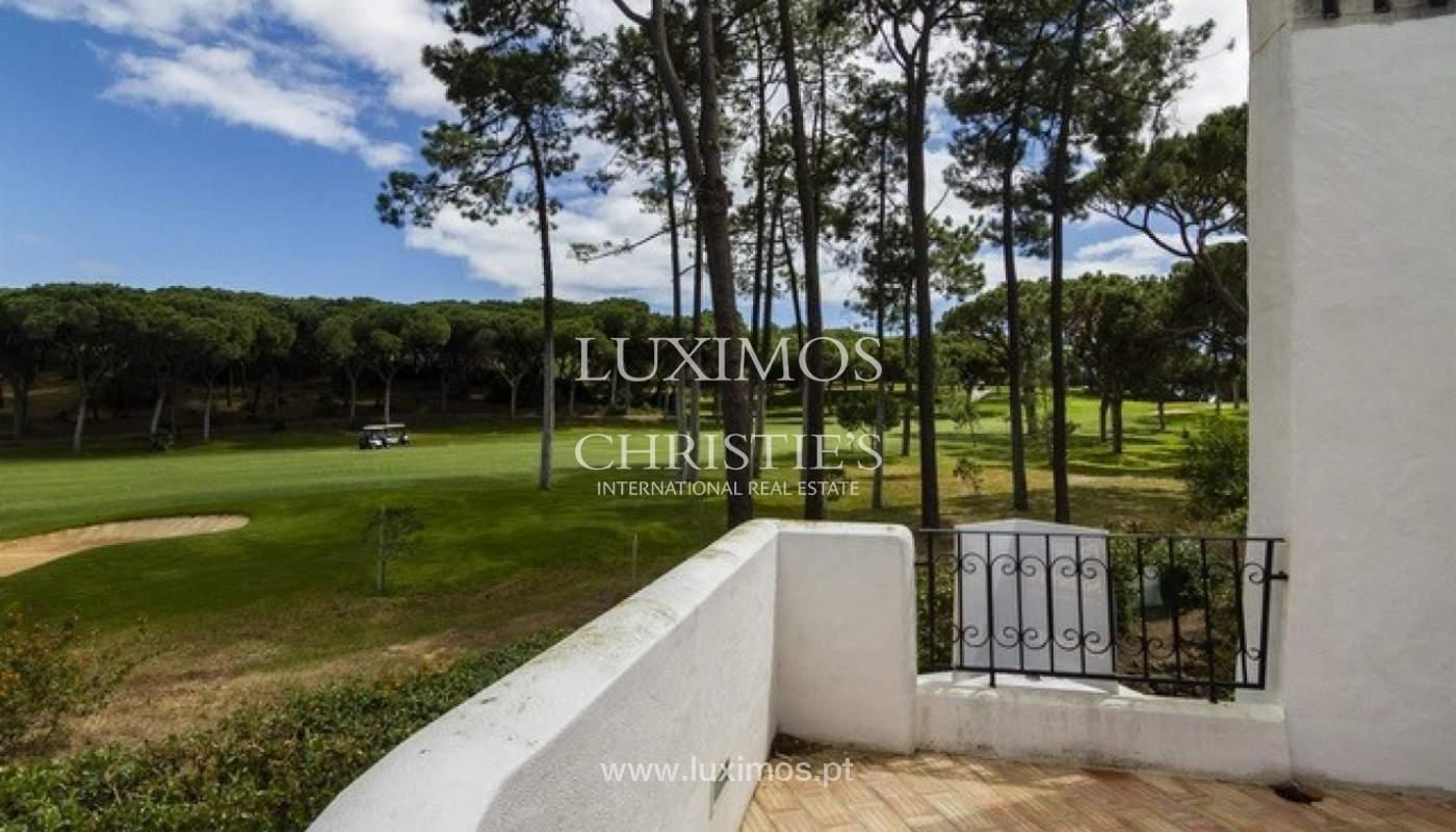 Villa à vendre avec piscine en front golf à Vilamoura, Algarve, Portugal_134428