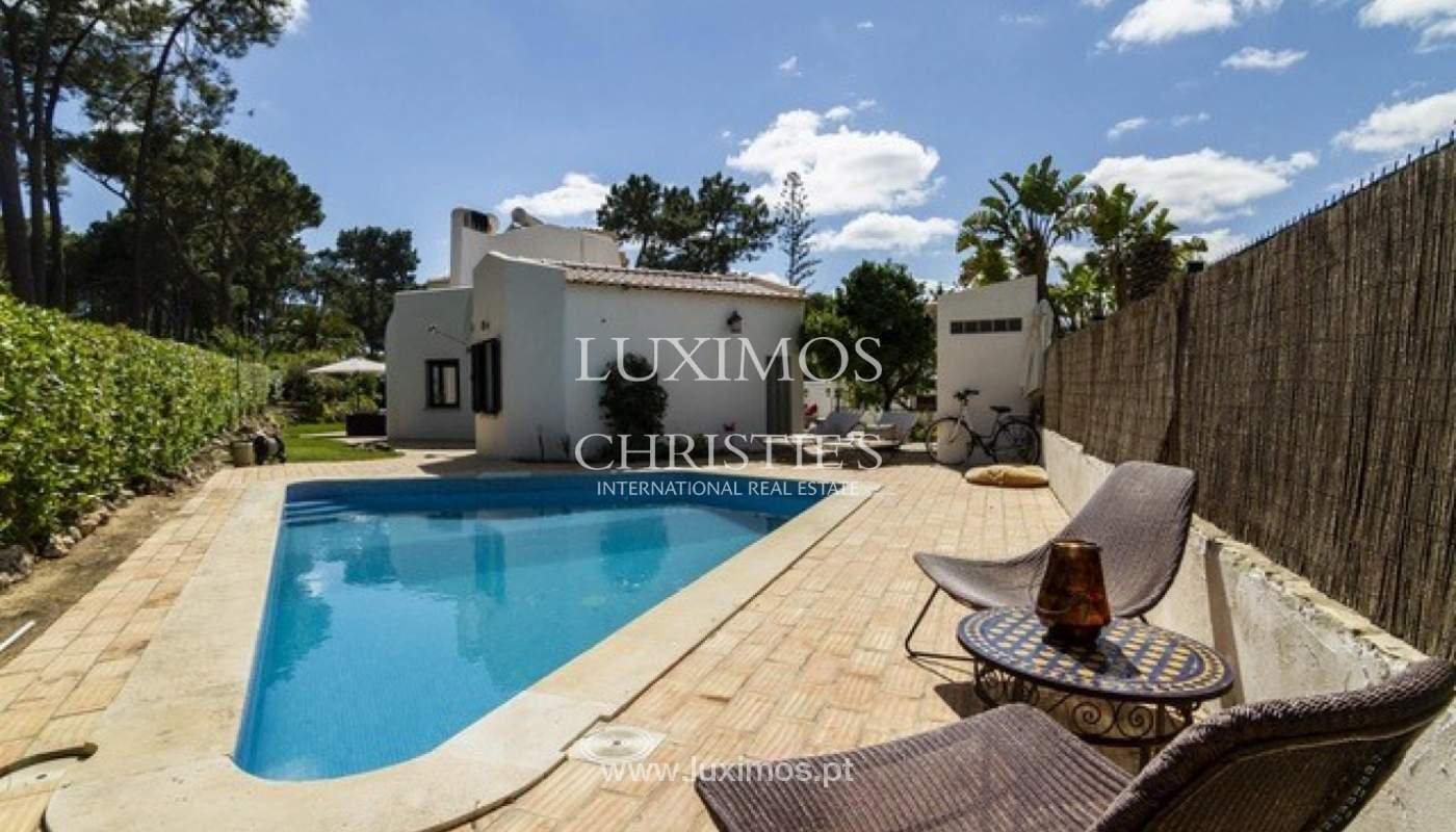 Villa à vendre avec piscine en front golf à Vilamoura, Algarve, Portugal_134431
