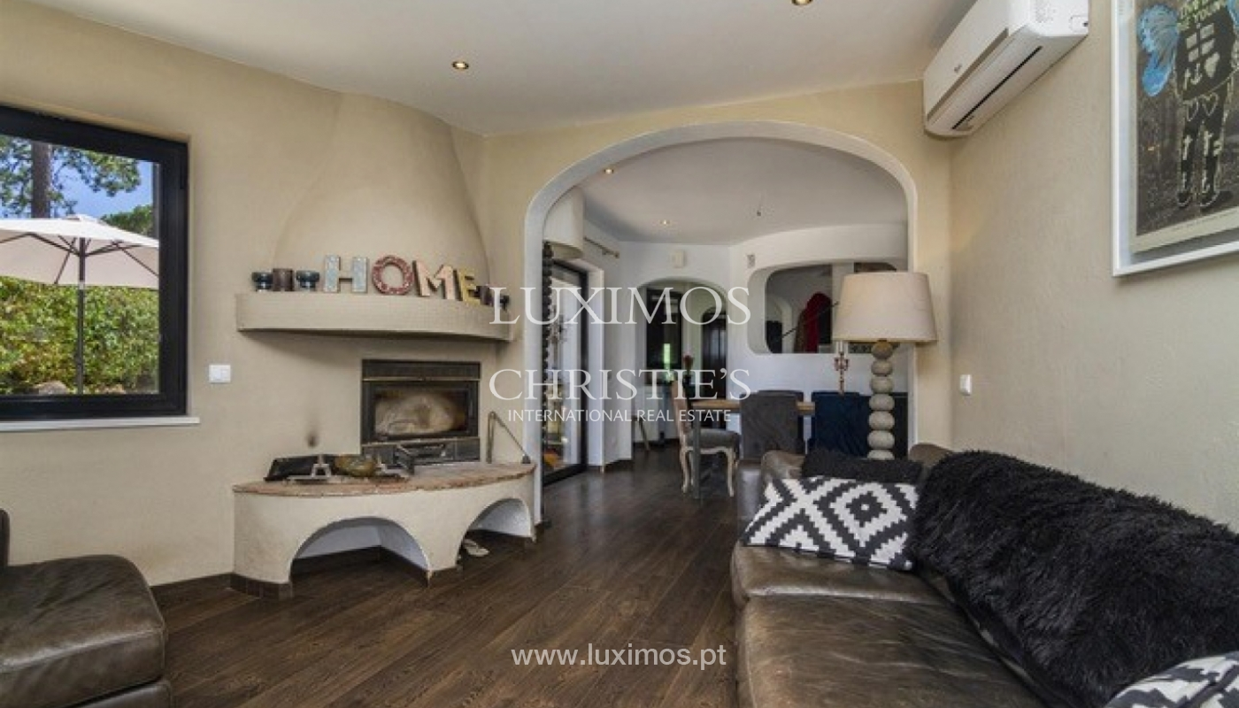 Villa à vendre avec piscine en front golf à Vilamoura, Algarve, Portugal_134434