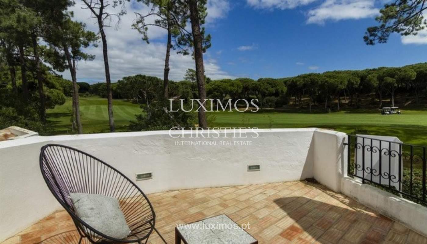 Villa à vendre avec piscine en front golf à Vilamoura, Algarve, Portugal_134436
