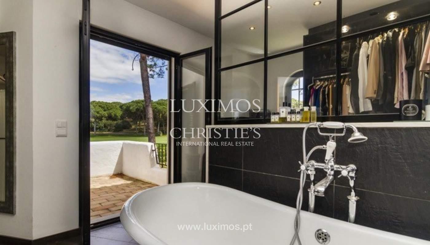Villa à vendre avec piscine en front golf à Vilamoura, Algarve, Portugal_134437