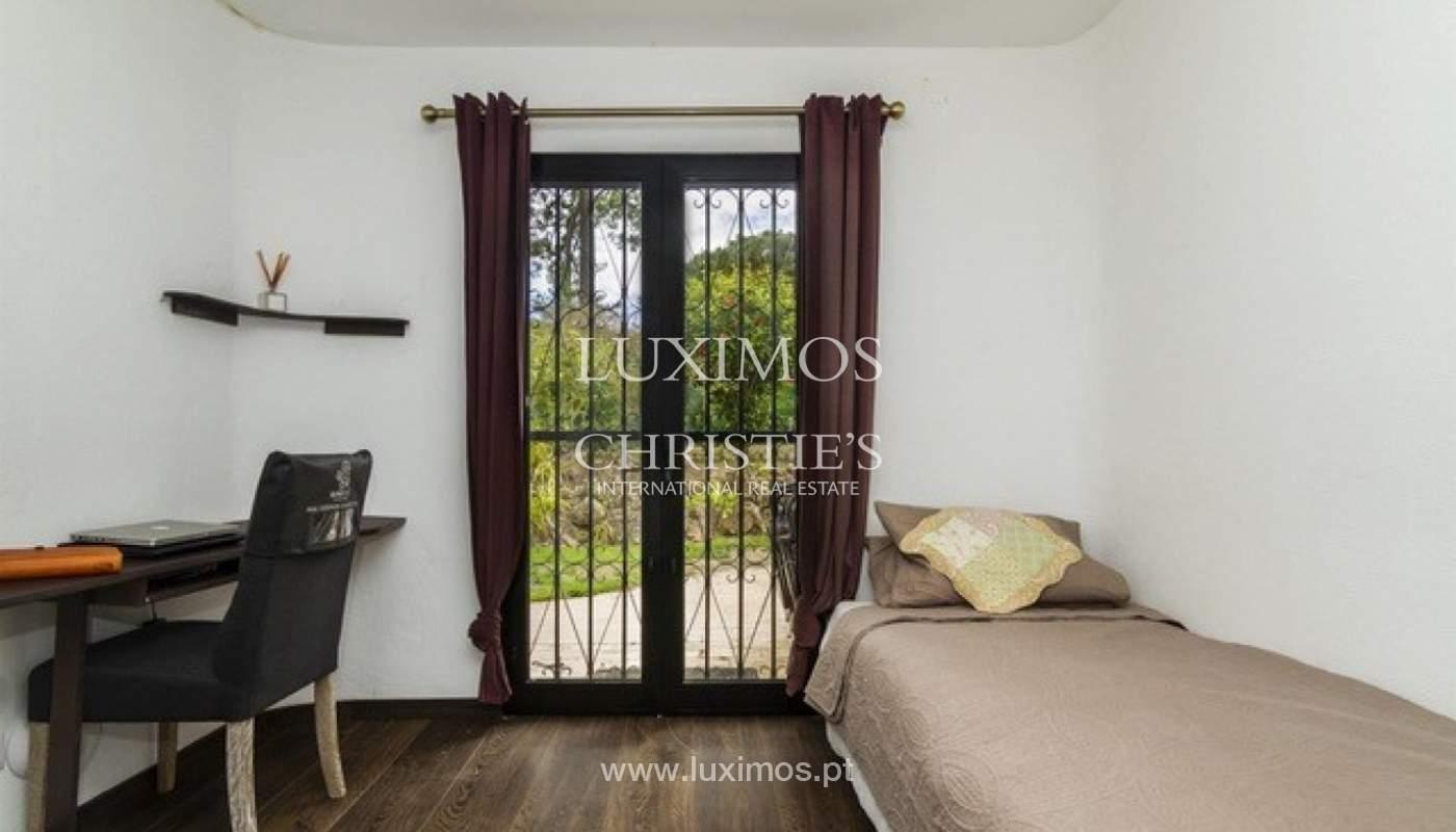 Villa à vendre avec piscine en front golf à Vilamoura, Algarve, Portugal_134443