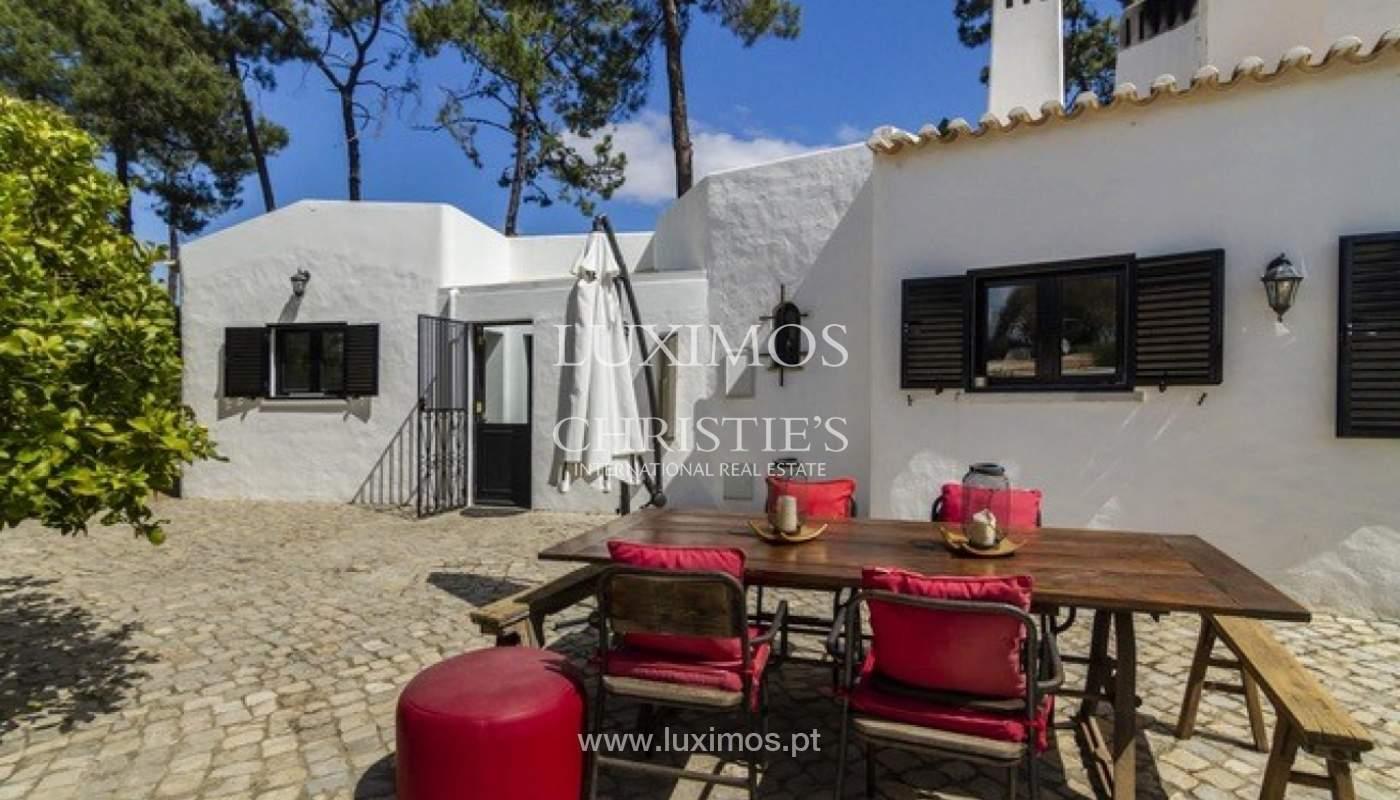 Villa à vendre avec piscine en front golf à Vilamoura, Algarve, Portugal_134451