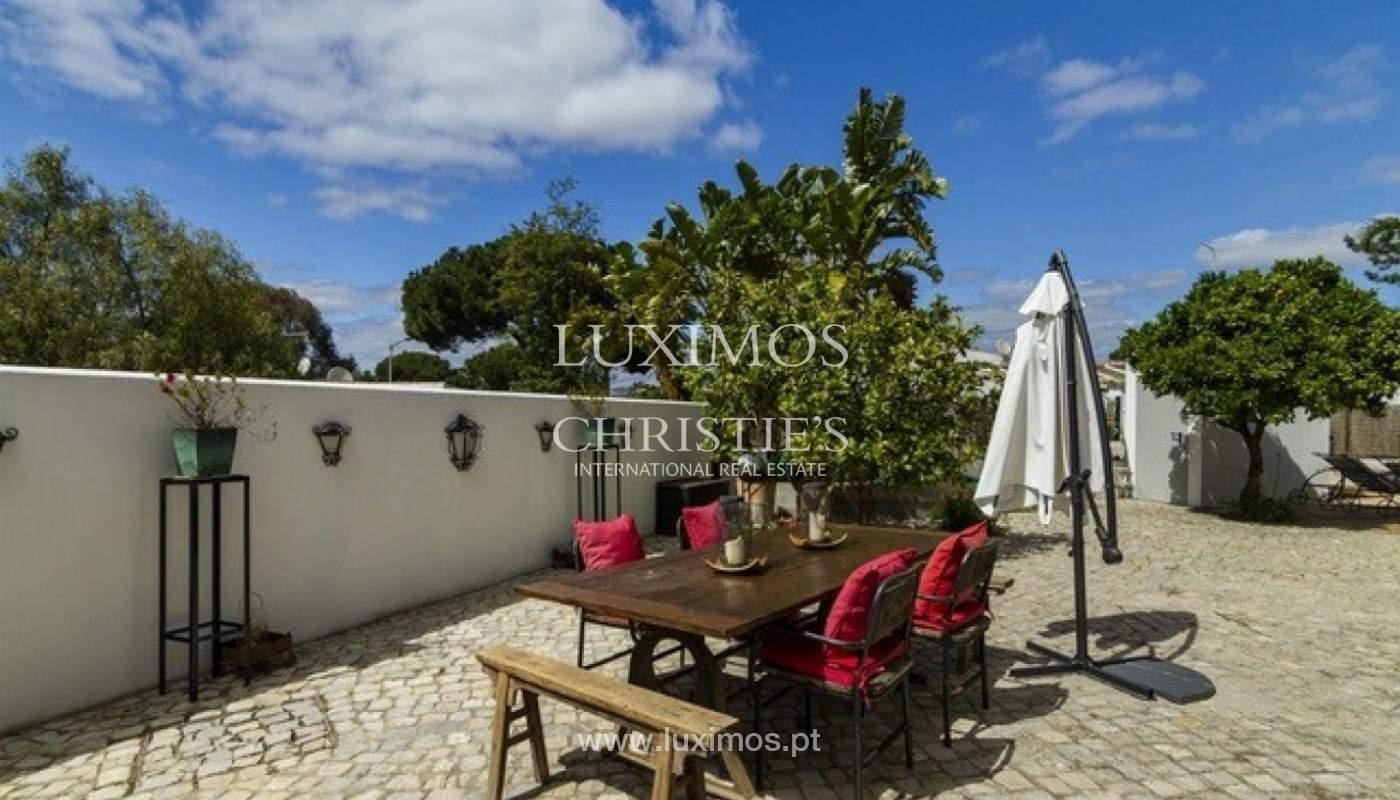 Villa à vendre avec piscine en front golf à Vilamoura, Algarve, Portugal_134452