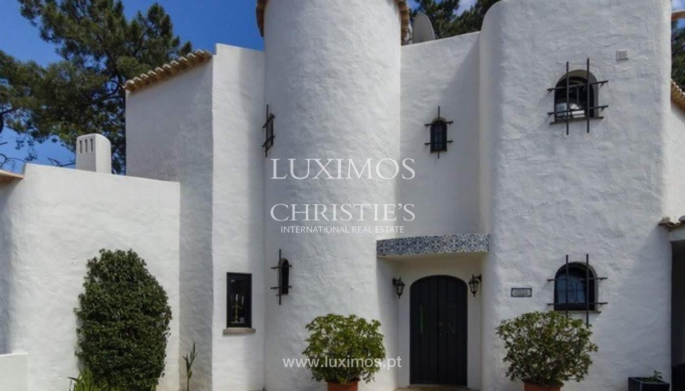 Villa à vendre avec piscine en front golf à Vilamoura, Algarve, Portugal_134454