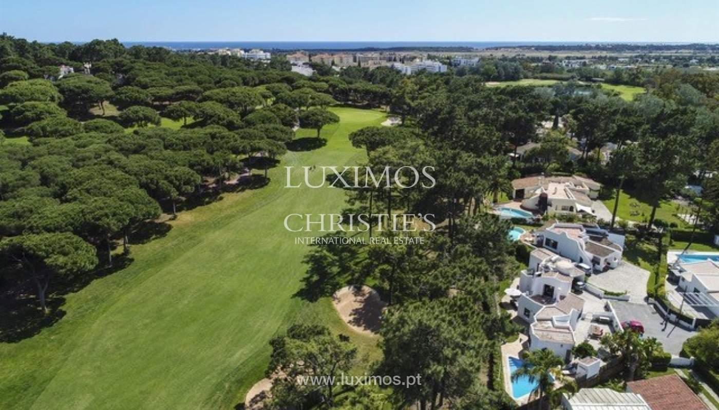 Villa à vendre avec piscine en front golf à Vilamoura, Algarve, Portugal_134455