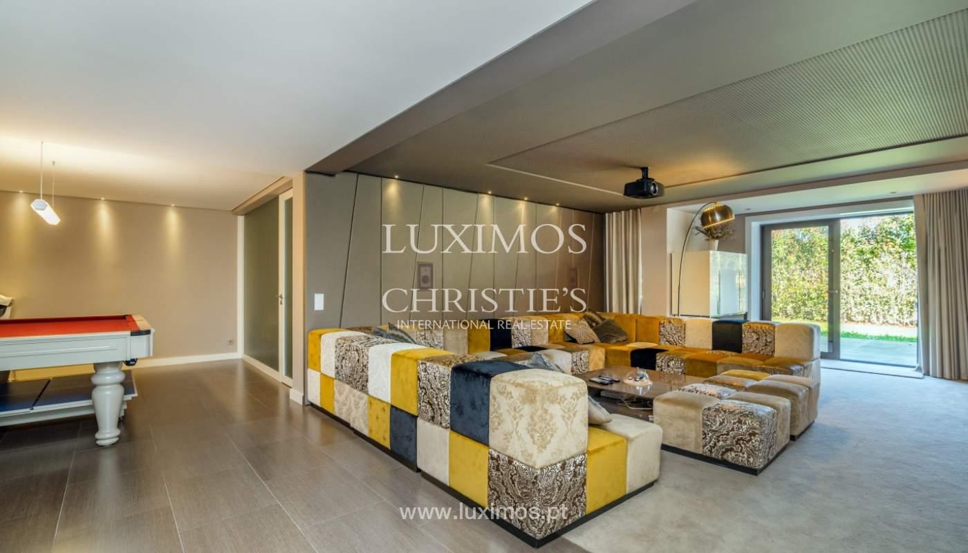 Moderne und luxuriöse Villa, mit Garten und Pool, in Porto, Portugal_134722