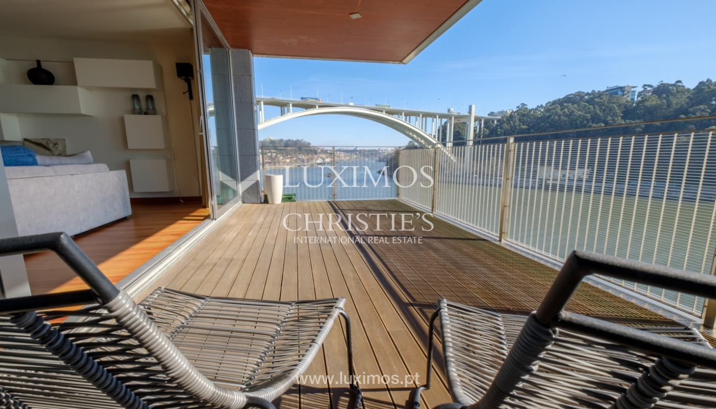 Luxury apartment in the first line of Douro River, in Porto, Portugal_134865