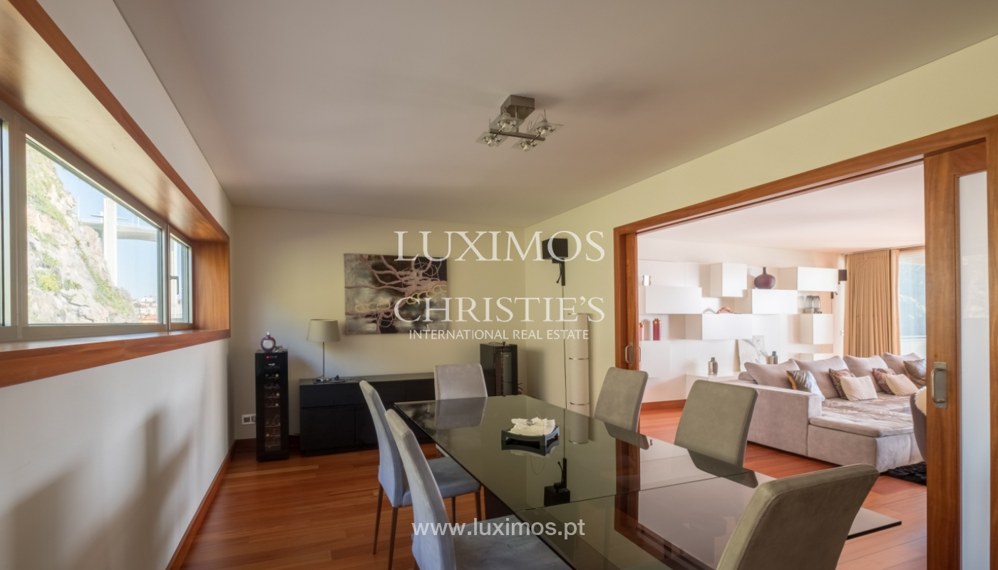 Luxury apartment in the first line of Douro River, in Porto, Portugal_134876