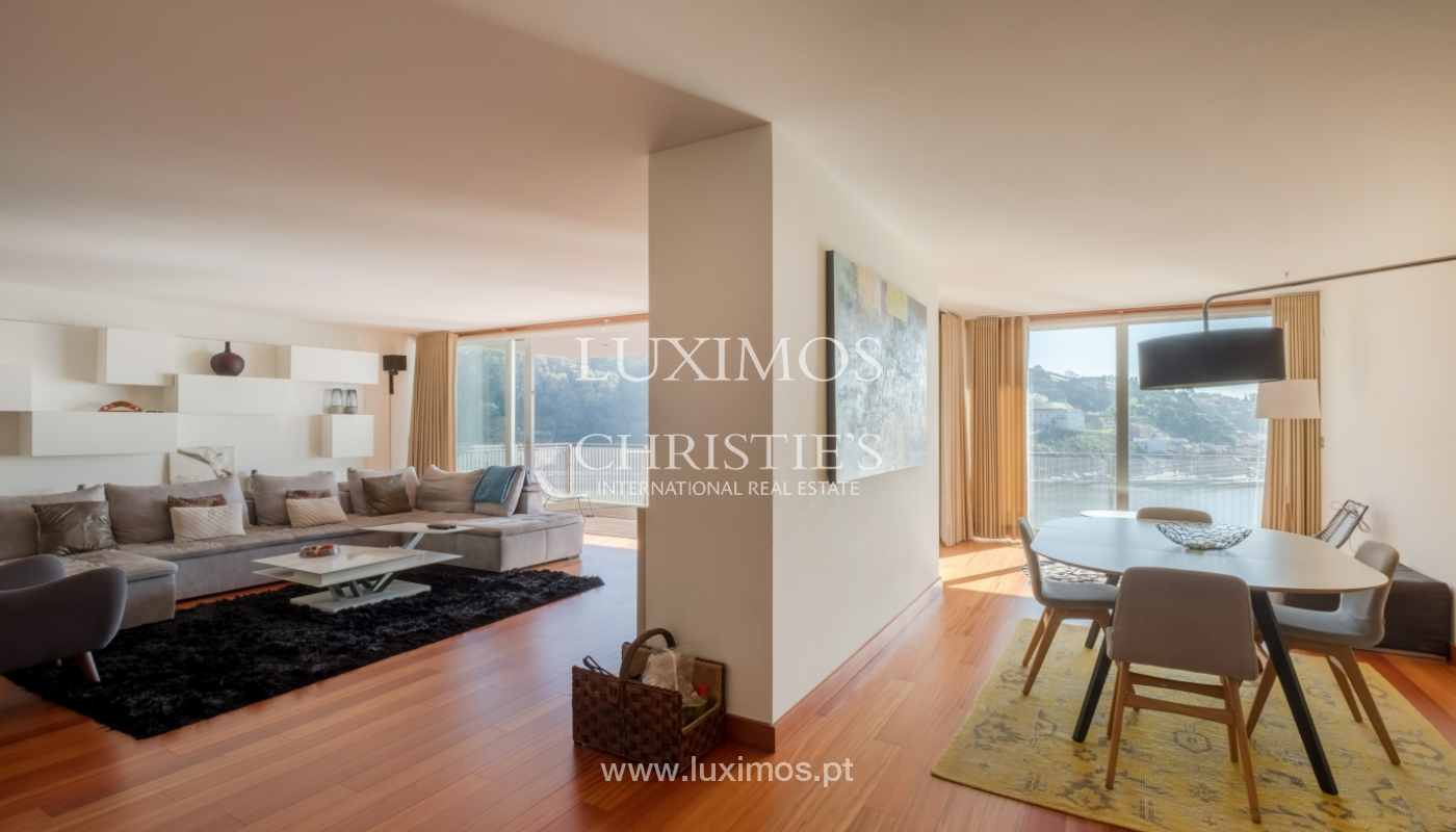 Luxury apartment in the first line of Douro River, in Porto, Portugal_134885