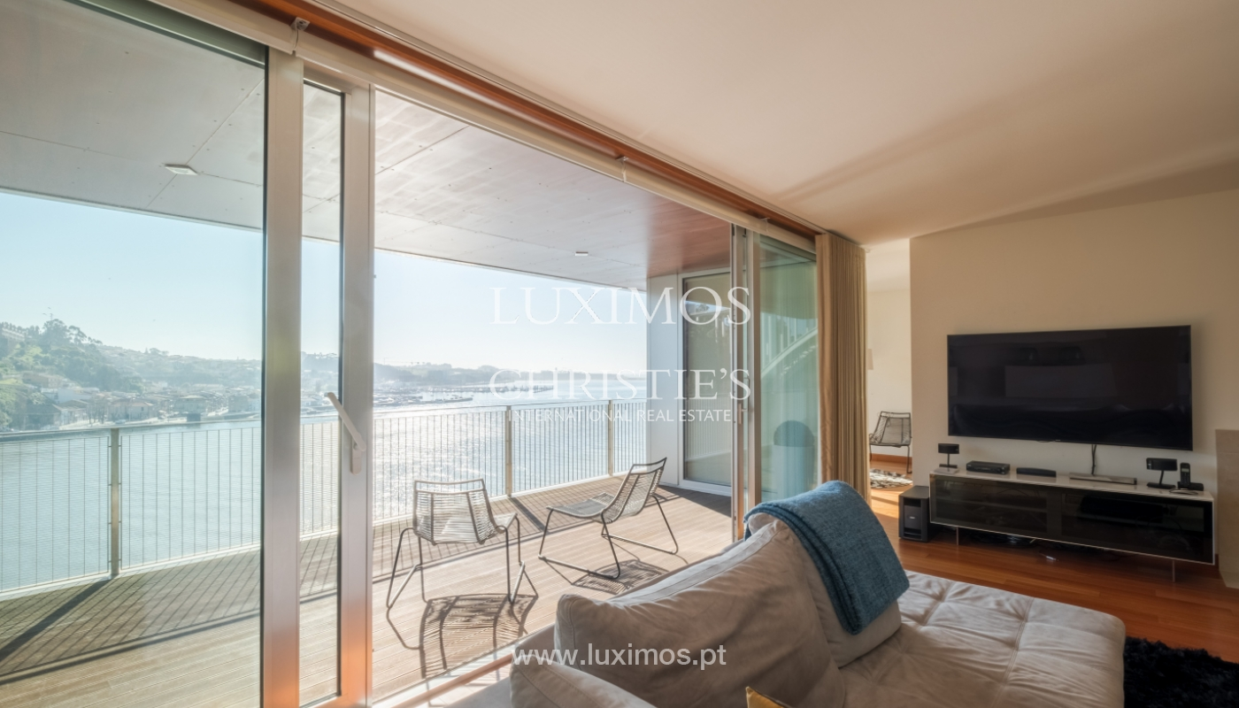 Luxury apartment in the first line of Douro River, in Porto, Portugal_134888