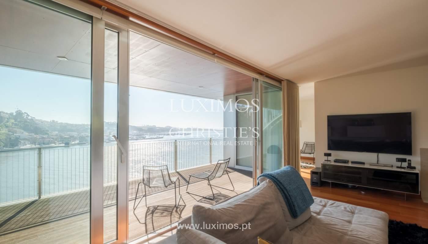 Apartamento de lujo en primera línea del río Duero, en Oporto, Portugal_134888