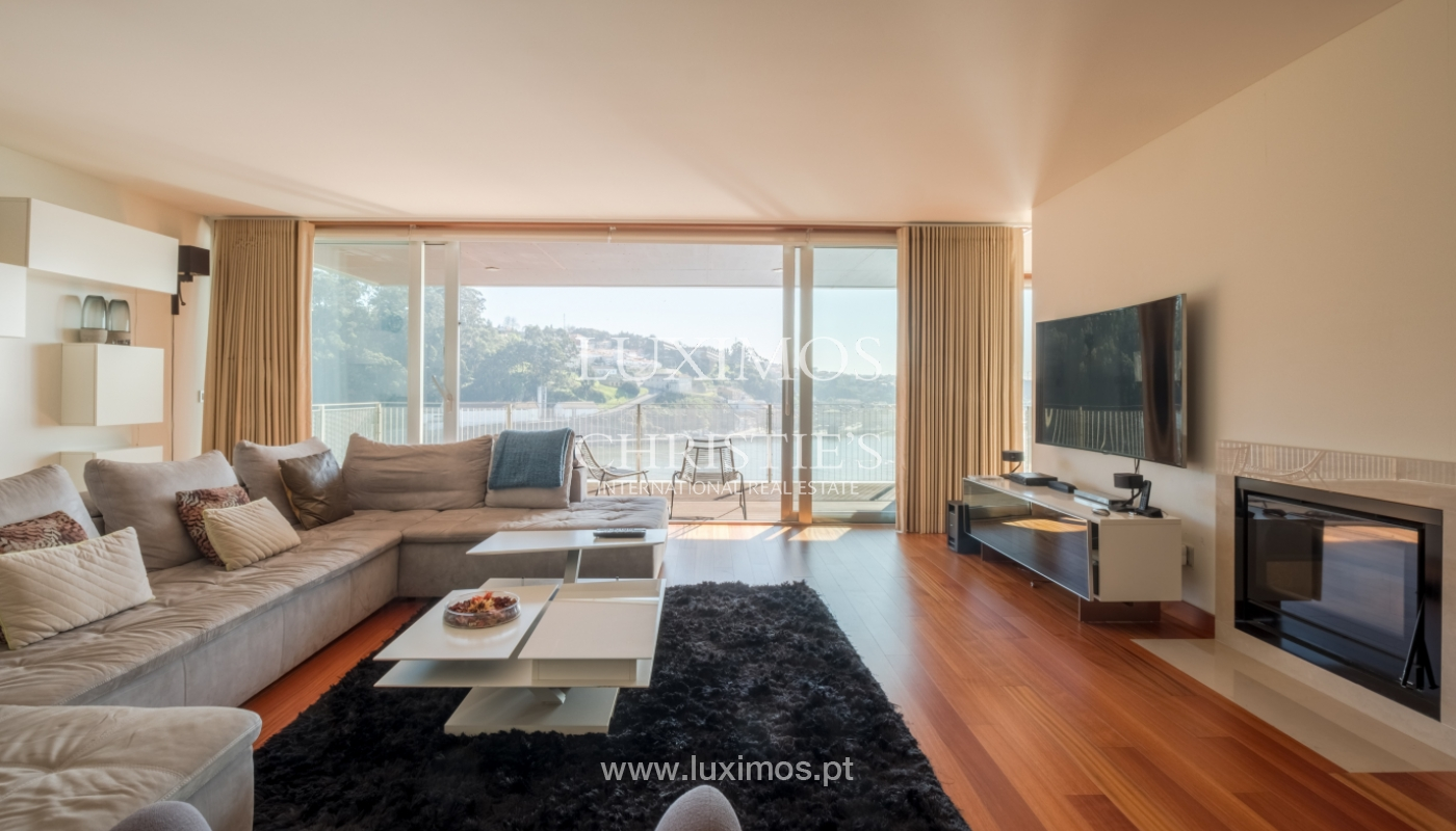 Apartamento de lujo en primera línea del río Duero, en Oporto, Portugal_134891