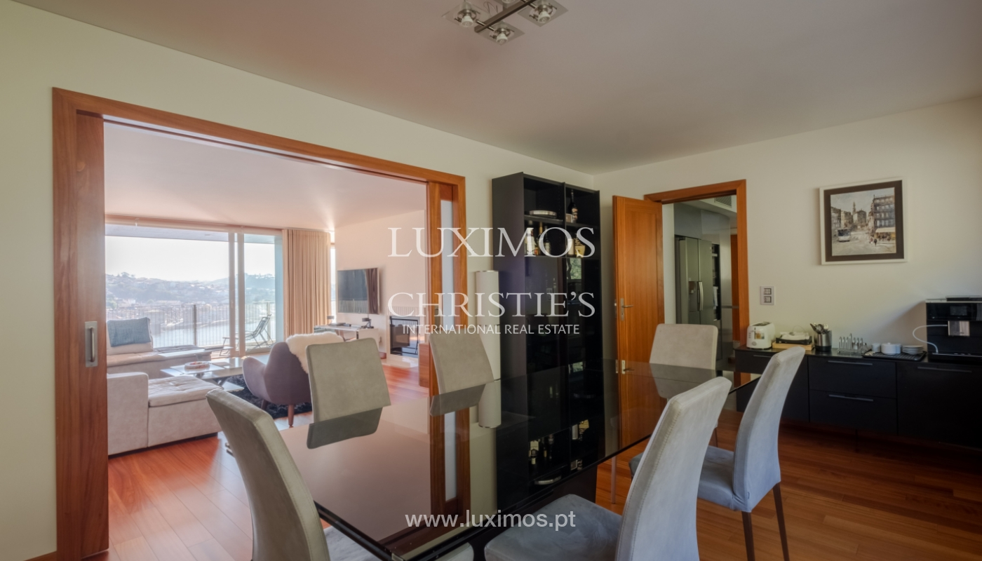 Luxury apartment in the first line of Douro River, in Porto, Portugal_134913