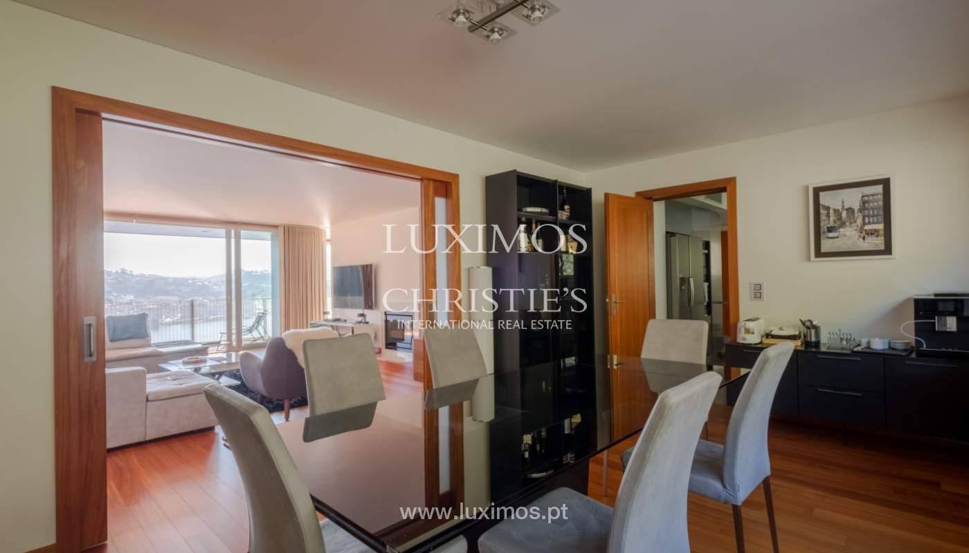 Apartamento de lujo en primera línea del río Duero, en Oporto, Portugal_134913